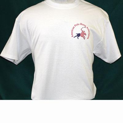 Team apparel for T shirt left chest logo size